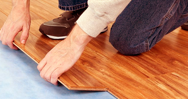 Vinyl and laminated flooring